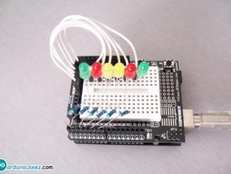 Arduino自制流水灯效果