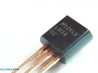 Arduino 使用 LM35 温度传感器