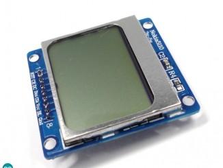 Arduino Nokia 5110 PCD8544 驱动实验