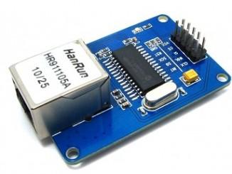 Arduino 使用 ENC28J60 有线网络模块