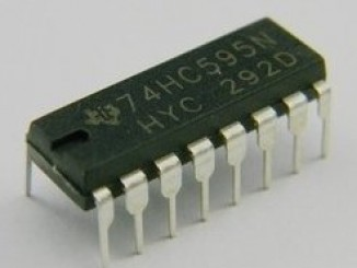 74HC595 芯片原理和 Arduino 使用实例