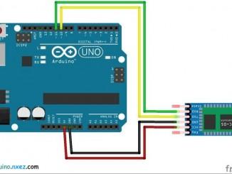 Arduino使用HC05藍牙模塊與手機連接