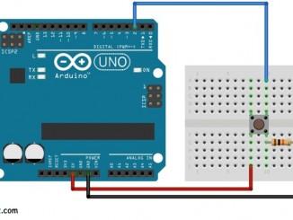 Arduino + 按鍵開關實現簡單的計數器