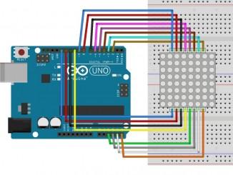 Arduino点阵制作跳动的心