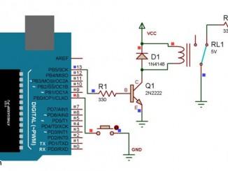 用 Arduino 实现带继电器的拨动开关