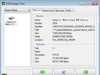 镜像写入工具USB Image Tool介绍