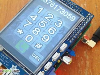用树莓派打造的智能手机PiPhone