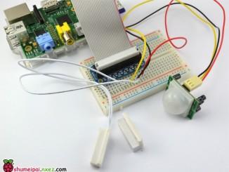 Adafruit的树莓派教程:热释电传感器感知运动