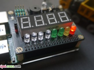 樹莓派 SAKS 擴展板實用應用 之 樹莓派關機鍵