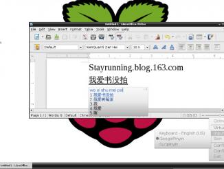 给树莓派安装中文输入法Fcitx及Google拼音输入法