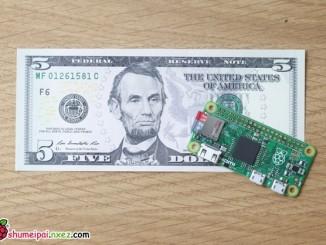 5美元计算机发布:树莓派零(Raspberry Pi Zero)