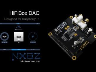 树莓派 HiFiBox DAC 扩展板开始发售