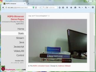 树莓派上MJPG-streamer的安装过程