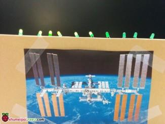 树莓派搭建指示灯自动显示在空间站的人数
