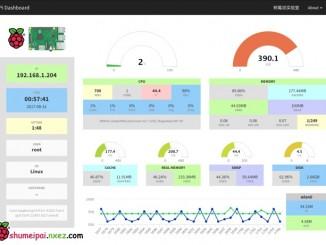 树莓派安装 Nginx + PHP7.0 + Pi Dashboard