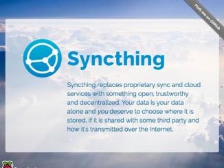 在樹莓派上用 Syncthing 自建私有雲盤