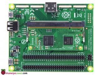 为树莓派CM系列模块的 eMMC 烧录系统