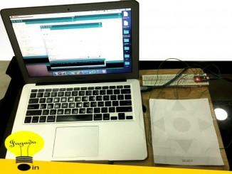 神奇Arduino系列:用A4紙自製一款手勢滑鼠
