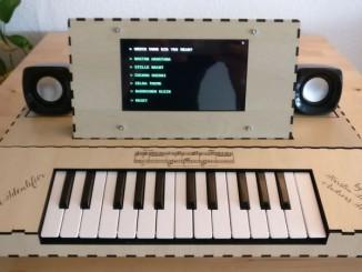 用树莓派自制 MIDI 键盘
